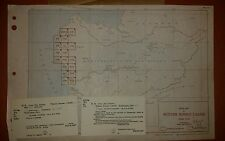 1940's US Army Maps Western Borneo - 5 sheets AMS T732