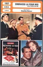 EMBRASSE-LA POUR MOI - Grant,Mansfield,Donen(Fiche Cinéma)1957  Kiss Them For Me