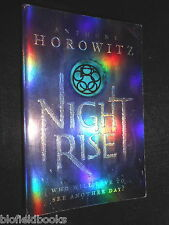 SIGNED; ANTHONY HOROWITZ - Night Rise - 2007-1st -   The Power of Five, Book 3