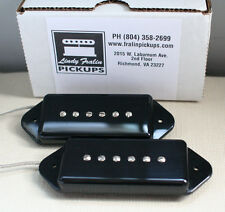 Lindy Fralin P90 Dog Ear Stock Pickup set - black