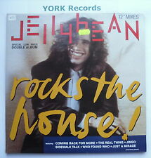 JELLYBEAN - Rocks The House - Excellent Con Double LP Record Chrysalis CJB 1