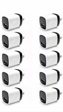 100x 1A USB Power Adapter AC Home Wall Charger US Plug FOR iPhone 5 5s 6 Samsung