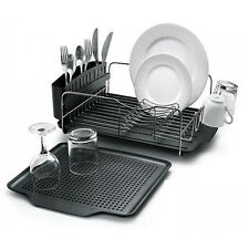 Polder 4-Piece Advantage Dish Rack System Drying Rust-Resistant Stainless Steel