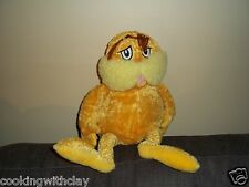PLUSH DOLL FIGURE DR SEUSS KOHL'S CARES YELLOW LORAX CREATURE STUFFED ANIMAL TOY