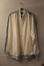 New Rocawear logo on back zipper up track jacket white men's 3X Big&Tall