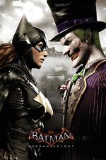 Poster BATMAN ARKHAM KNIGHT - Batgirl & Joker (Game) ca60x90cm NEU 58693