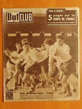 But & Club 276 du 15/1/1951-Rugby.France-Ecosse 14-12-Coupe de France-R.Famechon