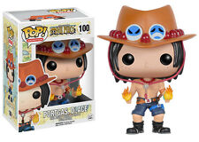 "Funko Pop One Piece Portgas D Ace #100 3.75"" Vinyl Figure"