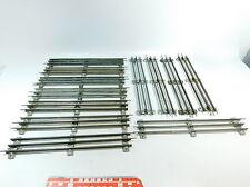 AT379-2# 12x Märklin/Marklin Spur 0 Gleisstück/Gleis für elektrischen Betrieb