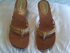 bebe spike heel shoes beige 9 FABULOUS!!!!!