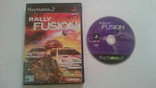 JUEGO RALLY FUSION PLAYSTATION 2 PS2. PAL UK