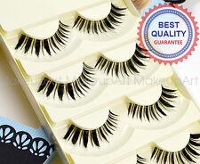 False eyelashes Japanese dolly wink style SS012 No.1 Glamorous 5 pairs
