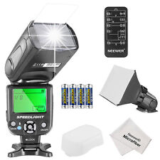 Neewer NW561 Speedlite Flash Kit (Flash+Diffuser+Remote+Battery) for Canon Nikon