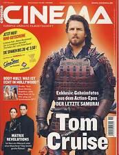 Cinema 11/03 - November 2003 - Zeitschrift - TOP Zustand, wie Neu