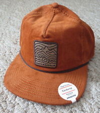 NWT Patagonia SEAZY BREEZY Corduroy Hat Baseball Cap High Crown New with Tags