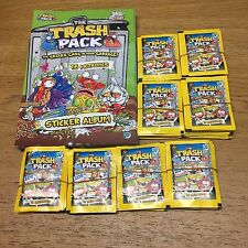 The Trash Pack 8 Albums and 160 Packs of Stickers Lucky Party Bag Giromax Loot
