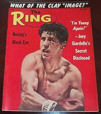 The Ring Magazine June 1964 Joey Giardello Collectable