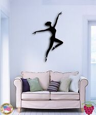 Wall Sticker Dance Dancing Ballet Dancing Ballerina for Bedroom z1352
