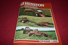 Hesston 1150 1085 1014 1010 1014+4 Mower Conditioner Dealer's Brochure DCPA2