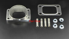 "T3 Turbo Inlet To 3"" OD Stainless Steel Pipe Weld Adapter Flange + Gasket + Stud"