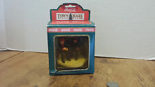 Coca-Cola Town Square Collection COKE Christmas Village Decor Gone Fishing