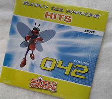 Karaoke cd+g disc Sunfly Hits Vol 42, see Descript 17 tracks/artists