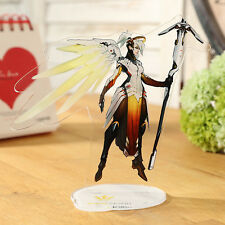 Overwatch Cartoon Figure Acrylic Stand Mercy Cosplay Decoration Licensing New
