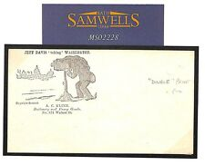 MS2228 1861 USA Patriotic envelope advert/Unused