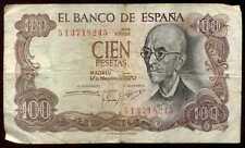 ESPAGNE  100 pesetas 1970   ( 5I3718245 )