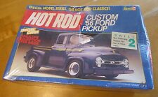 Hot Rod Custom '56 Ford Pickup Truck Model Kit 1:25 Sealed VTG 1986 Revell