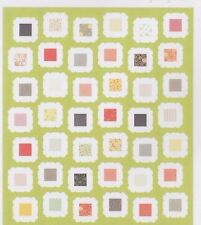 Kindred - modern pieced quilt PATTERN for charm squares - Coriander Quilts