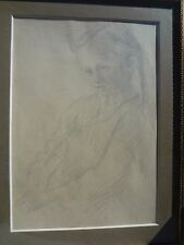 1899 Jacek Malczewski Polish Painter, Daughter (Sketch/Drawing Pencil,Graphite)