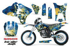 AMR Racing Yamaha WR 250/450 F Graphic Number Plate Kit Decal Wrap 03-04 IM LAD