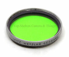 Leica HOOFG/13098/GGr/GREEN filter(1955)/Chrome/4 50mm Summicron,Elmar,Summaron