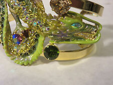 KIRKS FOLLY DRAGONS IN THE MISTCUFF BRACELET NWOT AVG