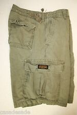 Ralph Lauren Polo Jeans Co Military Surplus Green Cargo Shorts (Mens 36) 2716
