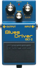 Boss BD-2 BD2 Blues Driver Distortion and Overdrive Effects Guitar Pedal New