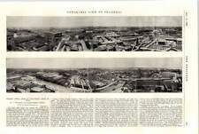 1898 Panorama View Of Shanghai Engineering Centre