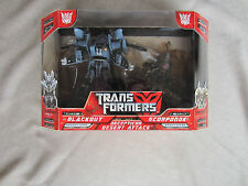 Transformers 2007 Movie Decepticon Desert Attack Blackout vs Scorponok MISB New