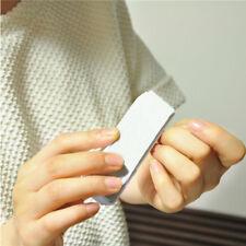 5× Handlich weiß Nagelfeile Block Nagel Glatt Machen Maniküre Tools Hot Verkauf!