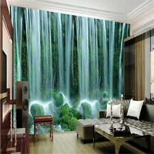 3D Wallpaper Bedroom Mural Modern Embossed waterfall TV Background Wall A1098
