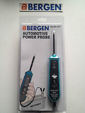 BERGEN Automotive Circuit Tester Lance Probe  6 - 24 Volts digital tester B6613