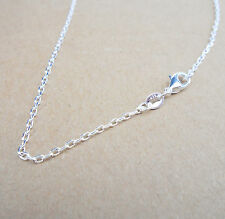 """Wholesale 26"""" 1PCS Fashion Jewelry 925 Silver Plated Singapore Chain Necklace"""