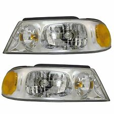 JAYCO FIRENZA 2003 2004 2005 HEAD LIGHTS LAMPS RV HEADLIGHTS SET - PAIR
