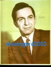 Ben Gazzara ARREST AND TRIAL Signed Poster Argentina 1960's