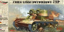POLISH TANK 7 TP ( EARLY / TWIN TURRET )  SEPTEMBER 1939 MARKINGS 1/72 MIRAGE