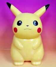 "1998 RARE POKEMON PIKACHU 8"" COLD DRINK BOTTLE NINTENDO PLASTIC WATER JUG"