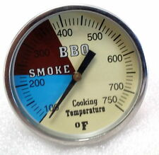 "2"" 750 RWB BBQ CHARCOAL GRILL WOOD SMOKER OVEN PIT TEMP GAUGE THERMOMETER"