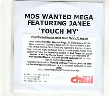 (GT692) Mos Wanted Mega ft Janee, Touch My - 2009 DJ CD