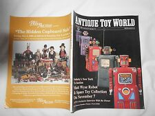 ANTIQUE TOY WORLD Magazine-OCTOBER,1996-MATT WYSE ROBOT & SPACE TOY COLLECTION